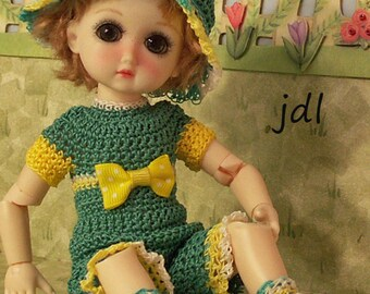 "Herb Garden for 8"" BJD StrawBerina or Ten Ping by JDL Doll Clothes"