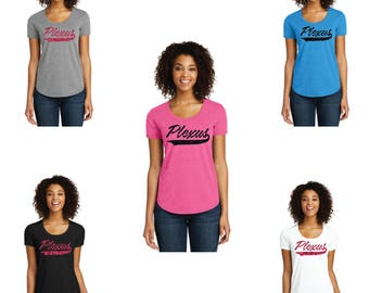 Plexus Glitter  Scoop Neck Shirt, Plexus Shirt, Scoop Neck Shirt, Scoop Neck Tee, Plexus Swag, Plexus