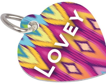 Heart Shaped Pet Tag - Personalize on 2 sides!