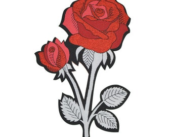 Rose Back Patch