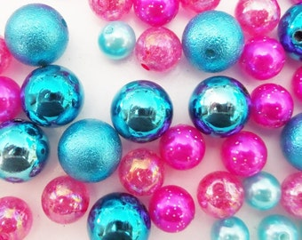 40CT. Bead Collection, 10mm beads and larger, K34