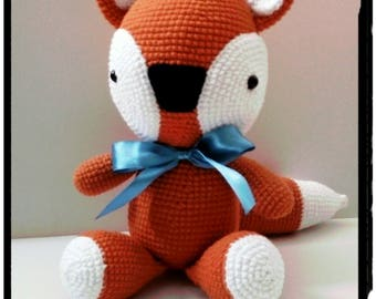 Crochet Fox - Vuk the little fox - amigurumi