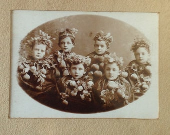 Antique Photo, Antique Children Photo