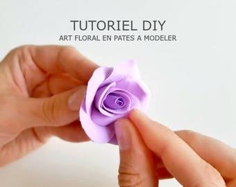 DIY tutorial - Classic pink plasticine autodursissante