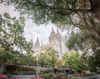 Salt Lake Temple Sunrise