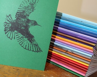 Hand made book - Starlings