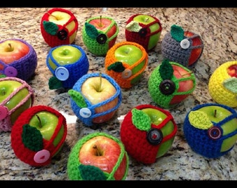 Apple Cozy         ANY COLOR Available, just specify when ordering.