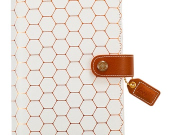 Copper Hexagon Color Crush Personal Planner Kit Undated Calendar Webster's Pages  • Free Washi Tape (CCPK001-H)