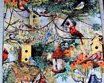 Birds and Birdhouse pillowcases