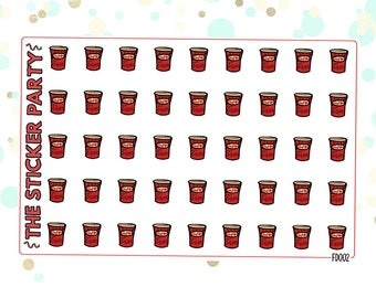 Tim Hortons Coffee Cups Planner Stickers