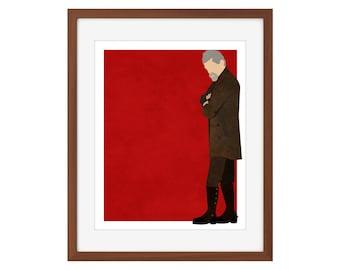 Doctor Who print - the War Doctor/John Hurt