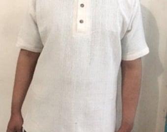 Polo hemp shirt