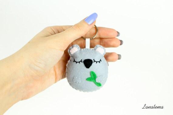 Koala portachiavi animali regalo per ragazza portachiavi - Regalo casa nuova ...