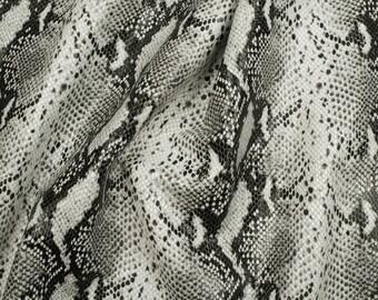 7sqft or 8.1sqft Snake skin pattern embossed Lambskin Sheepskin Leather Skin Hide for Handbag, Shoes, Upholstery