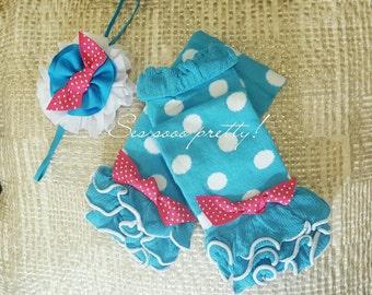 Legwarmers set, Baby girl gift
