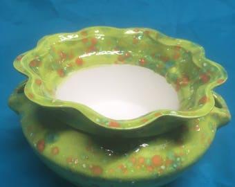 African Violet pot