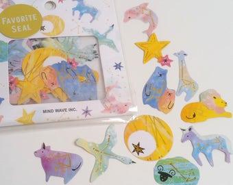 Pretty Constellation Mind Wave Inc Sticker Flake Set