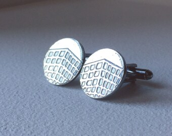 Cheese Grater Cufflinks