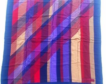 Christian Dior Silk Scarf Striped