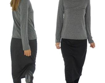 HS700SW ladies skirt black Gr. 38 40 42 business skirt pencil skirt stretch pencil skirt
