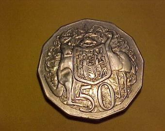 Australia Coin 1971 50 Cent