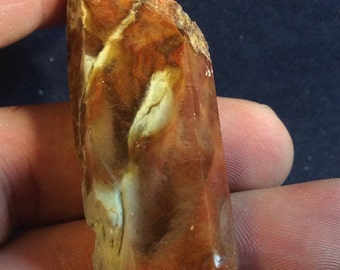 30g amphibole quartz point