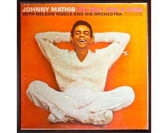 Glittered Johnny Mathis Make You a Star Album