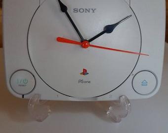 PS1 desk clock