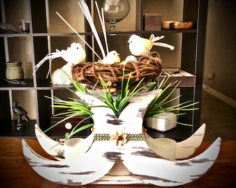 Spring & Summer Table Centerpiece. Unique, One-of-a-Kind!