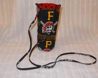 Pittsburgh Pirates Water or Beer Bottle Cooler