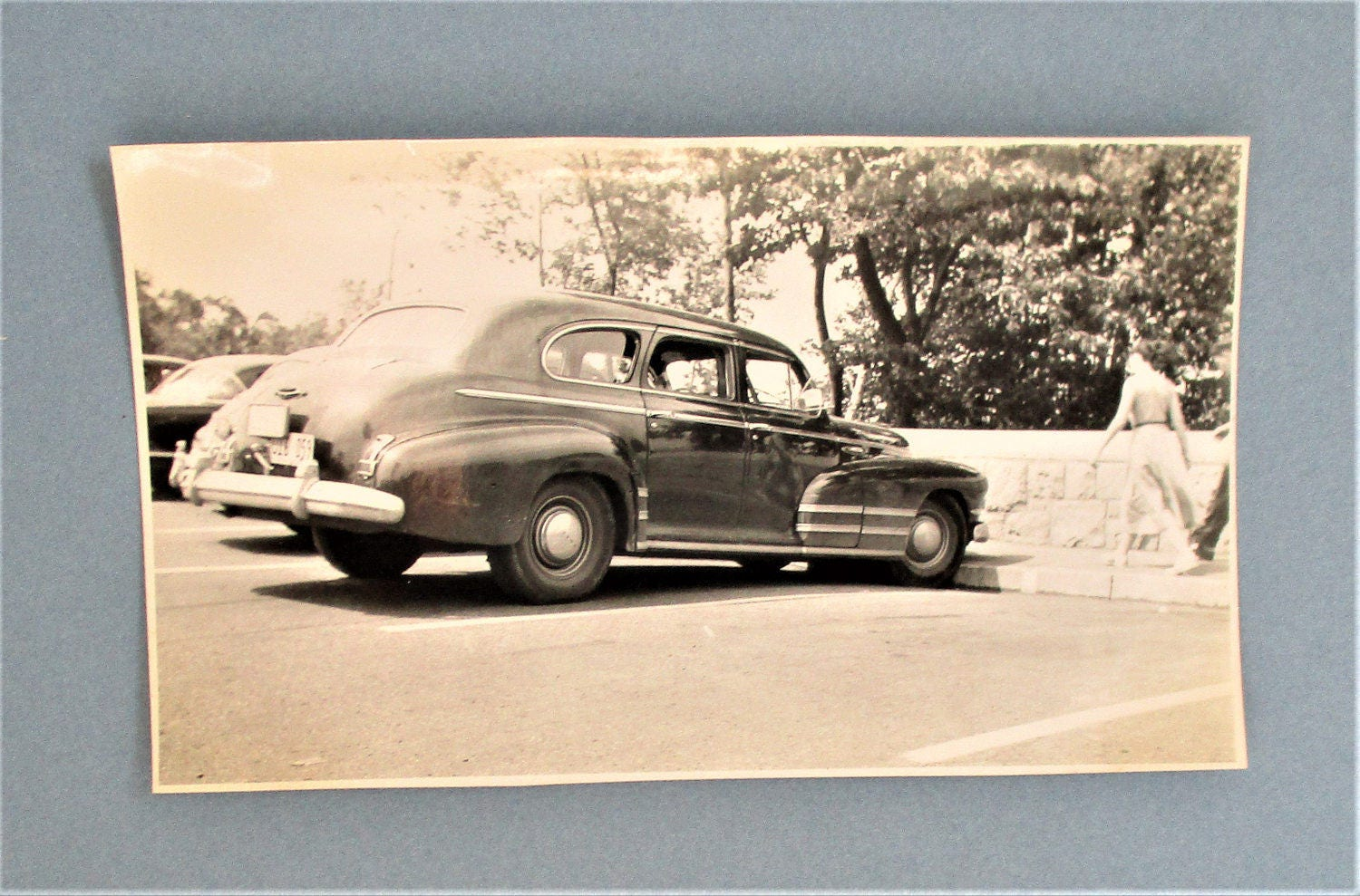 Vintage 1950\'s Automobile Photograph Niagara Falls Tourist Card ...