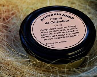 Crema de Caléndula - Especial para pieles sensibles y atópicas, dermatitis, psoriasis, eccemas, irritaciones, muy hidratante y nutritiva.