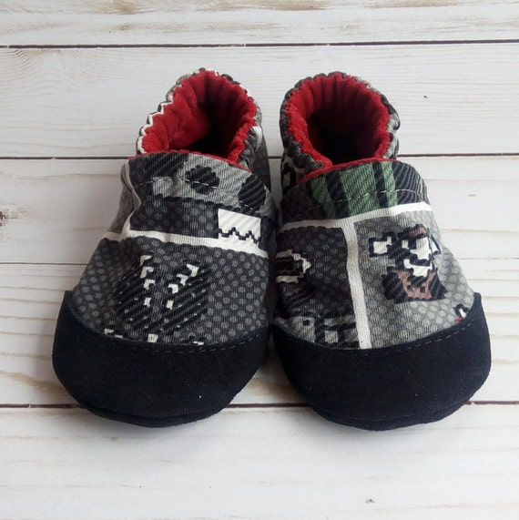 Super Mario Bros: Soft Sole Baby Shoes 12-18M