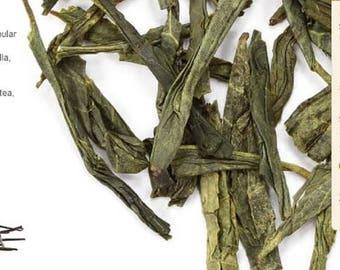 Vanilla Green tea loose leaf 5 ounce bag