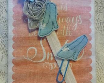 Planner bands / planner accessories / paper clip set /Cinderella