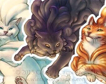Cumulus Cats - Original