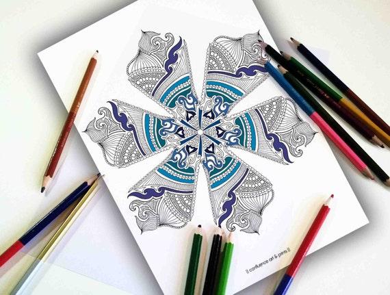 Mandala Coloring Pages Adults Printable : Mandala coloring page coloring pages for adults printable
