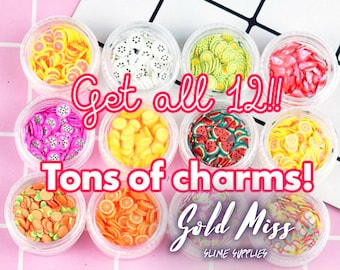 Slime Charms Free Shipping Food Decorations / Cheap Slime Charms Candy, Slime Chunks, Slime Charm Shop, Slime Fillers, Slime Kit France Kids