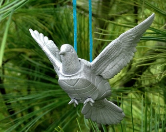 Mythical Turtle Dove Sculptural Ornament