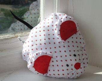 Strawberry Mouse Cushion