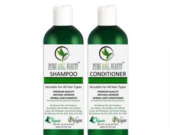Ayurvedic Indian Hemp Shampoo & Conditioner; (Stimulate and Growth), ayurvedic shampoo, ayurvedic conditioner, organic ayurvedic oil herbal