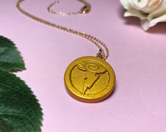 Mini Medallion Necklace Inspired by Hercules