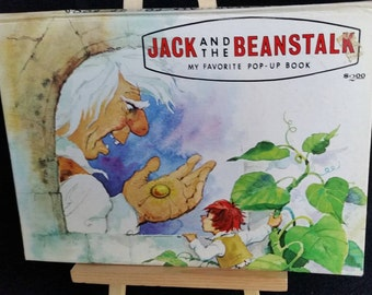 POP-UP BOOK, Jack and the Beanstalk, Modern Promotions, Printed in Cali, Colombia, South America, My Favorite Pop-Up Book, (4) Pop-Up Scenes