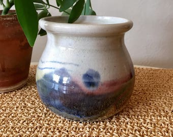 Multicolored Pottery Planter