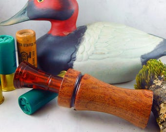 Duck Call Single Reed in Mesquite with an Echo Insert #306