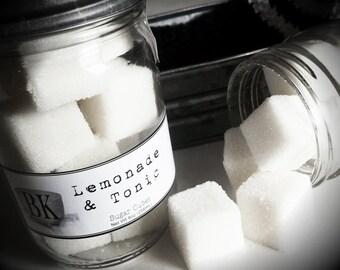 LEMONADE & TONIC Sugar Scrub Cubes