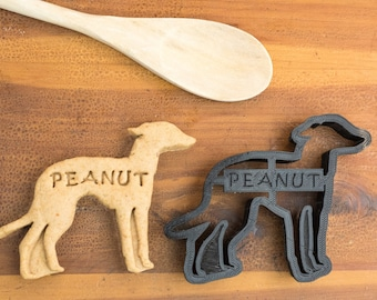 Italian Greyhound Cookie Cutter Custom Treat Personalized Pet