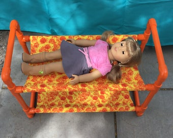 PVC Bunk Bed for American Girl Dolls