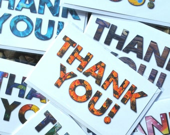 Thank You Cards, Note Cards, Pick Any Five