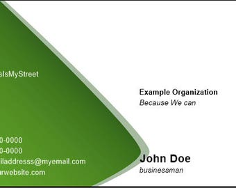 Cone Business Cards
